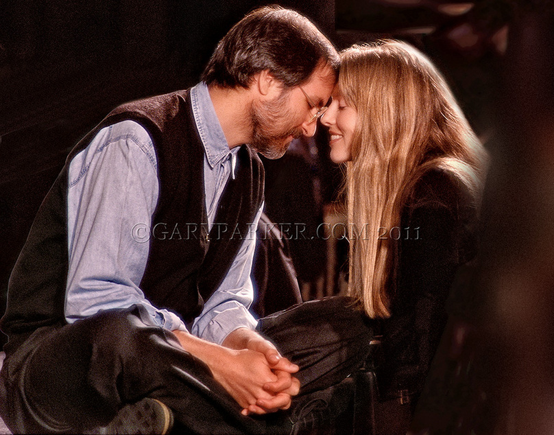 Steve Jobs and Laurene Powell Jobs by Gary Parker - ALL RIGHTS RESERVED
