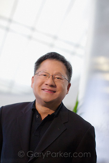 Jen-Hsun (Jensen) Huang, Co-founder, President and CEO of Nvidia, a Silicon Valley entrepreneur from Taiwan, is a multi-faceted executive known for his genius in the graphics processor field, as well as for his philanthropy.  .