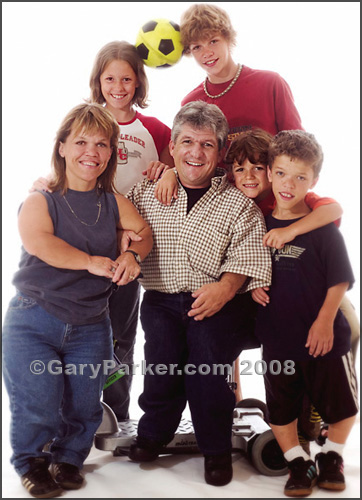 "The Roloff Family, 2004, prior to their hit TLC show ""Little People Big World"""