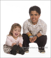 Emmalia (Emma) Razis Ibarra with brother Basil Alsougi.  Both have Achondroplastic Dwarfism.