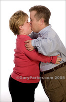 Rob and Amy Haines during their engagement.  Now married, both have Achondroplasia