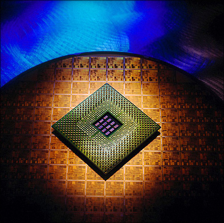 Intel - Terahertz Chip / Macro photography