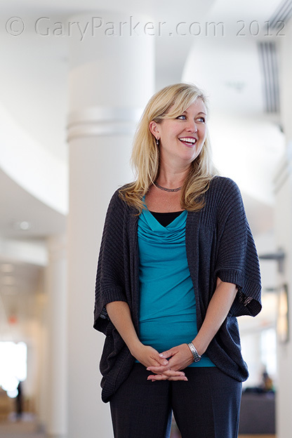 Cisco's Blair Christie, Senior VP and Chief Marketing Officer, Government Affairs.  Blair is known for her enthusiastic ability to balance motherhood and family life with the rigors of executive life.