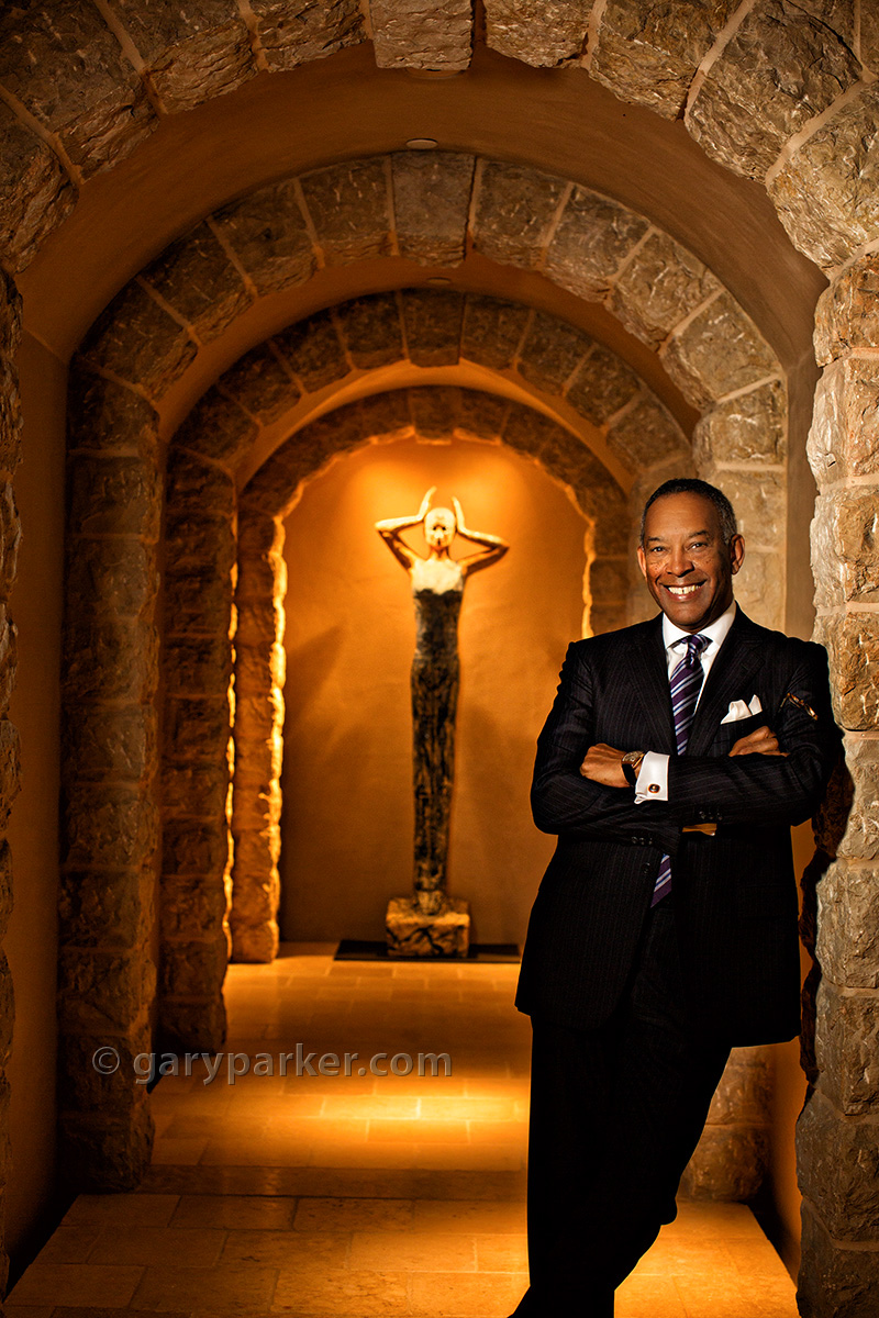 John W Thompson, Microsoft Chairman & CEO of Virtual Instruments (cover for Savoy Magazine)