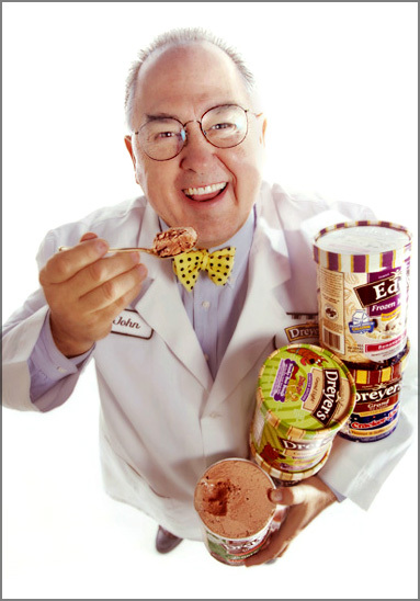 Professional ice cream taster John D Harrsison, Dreyers / Inventor of Cookies & Cream Flavor