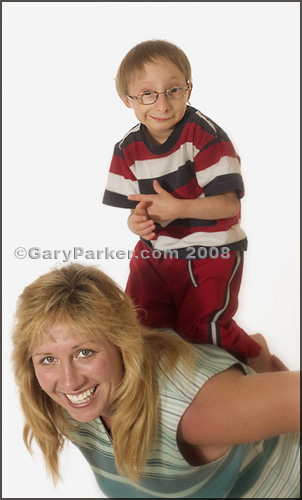 Nick Smith, at 12 in 2004, Primordial Dwarfism, with mother Shelly in 2004.  Nick is now