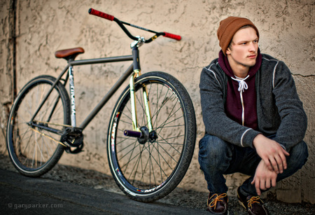 Forest Parker - Fixed Gear Freestyle pro cyclist
