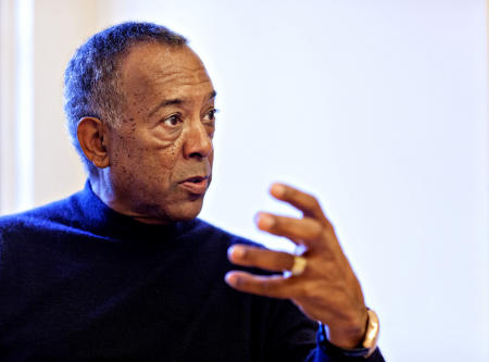 John W Thompson, Microsoft Chairman of the Board at home in Woodside, CA